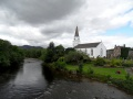 Comrie Old Parish Church (Former) From Iron Bridge