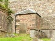 East porch of Kilrenny Parish Church. Image: Kirsty Owen (October 2007)  Image ID: s1298_10.JPG